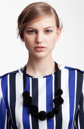 Marni Edition Resin Statement Necklace Black