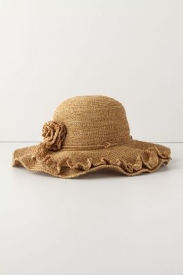 Anthropologie Rustic Ramble Hat