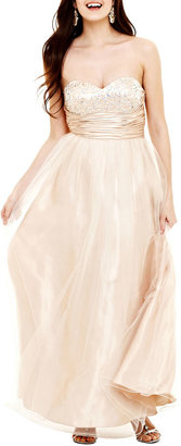 JCPenney REIGN ON Embellished Sweetheart Ball Gown