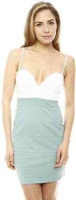 Ark & Co Mint Color Block Dress