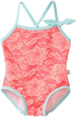 Floatimini Baby-Girls Infant Tangy Lace Bathing Suit