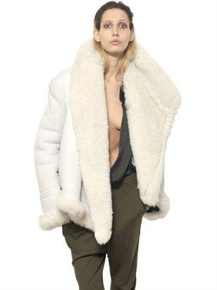 Haider Ackermann Merino Shearling Jacket