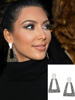 Belle Noel by Kim Kardashian Nugget Earrings