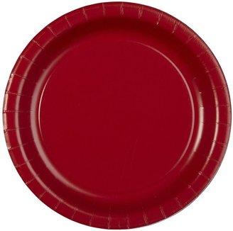 "Creative Converting Classic Red 7"" Paper Dessert Plates - 8 ct"