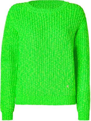 Kenzo Granny Green/Citron Oversized Pullover