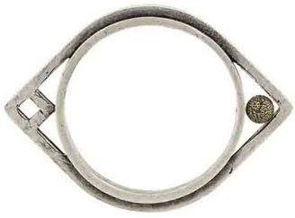 Low Luv x Erin Wasson Women's Oblong Bangle - 14k Gold w/ Silver Plating