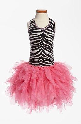 Swarovski Ooh! La, La! Couture 'Swarovski Necklace' Dress (Little Girls & Big Girls)