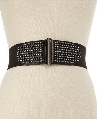 Style&Co. Studded Stretch Belt