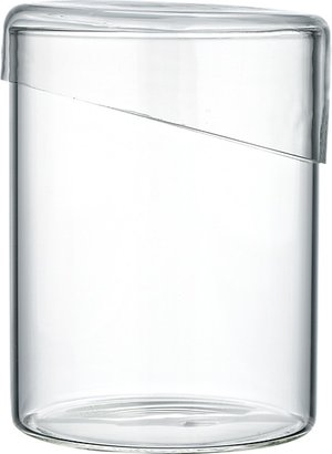 CB2 Glass Canister