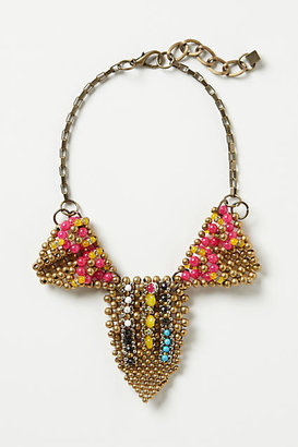Anthropologie Pearl-Points Necklace
