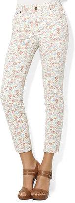 Lauren Ralph Lauren Floral Modern Ankle Jean