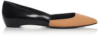 Pierre Hardy Peach And Black New Classic Ballet Flat