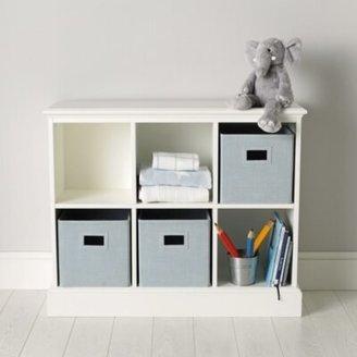 The White Company Classic 6 Cube Storage Unit, White, One Size