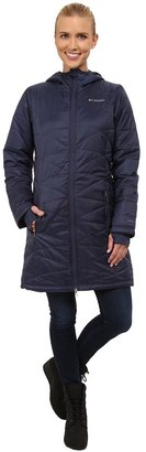 Columbia - Mighty Lite Hooded Jacket Women's Coat $140 thestylecure.com