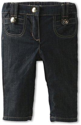 Chloe Kids - Soft Denim Pant w/ 2 Front Pockets (Infant) (Denim) - Apparel