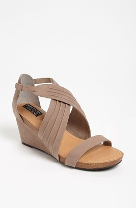 Me Too Adam Tucker 'Kamila' Wedge Sandal Grey 7.5 M