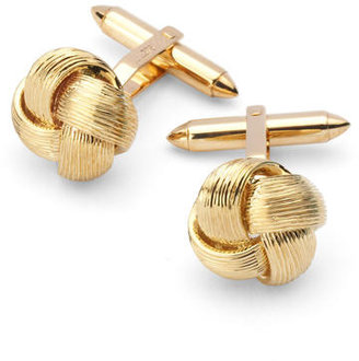 Aspinal of London Fine Wire Knot Cufflinks