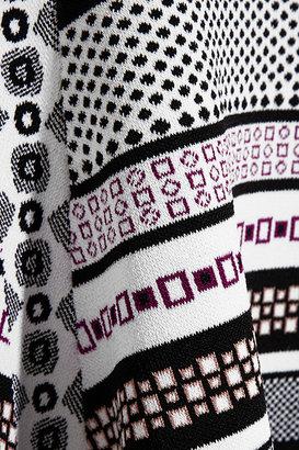 Diane von Furstenberg Eleanor jacquard-knit dress