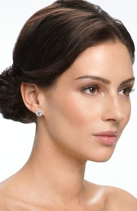 Nordstrom Round 3.48ct tw Cubic Zirconia Stud Earrings