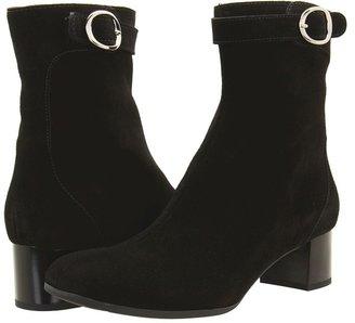 La Canadienne Jody (Black Suede) - Footwear