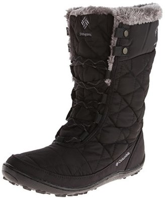 Columbia Women's Minx Mid II Omni-Heat Winter Boot,Black/Charcoal,8.5 M US $71.78 thestylecure.com