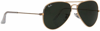 Ray-Ban RB3025 Aviator Large Metal 58mm Sunglasses $150 thestylecure.com