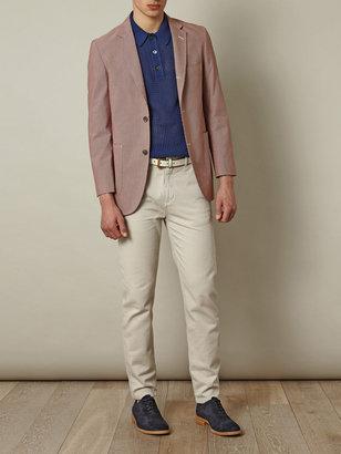 Brooks Brothers Cambridge check-print blazer