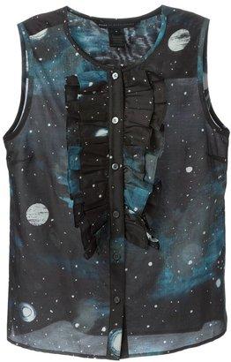 Marc By Marc Jacobs Stargazer ruffled bib sleeveless shirt $369.86 thestylecure.com