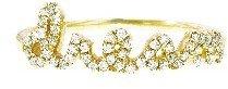 Sydney Evan Dream Ring with Diamonds - Yellow Gold