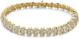 FINE JEWELRY Diamond Bracelet 1/10 CT. T.W. $187.49 thestylecure.com