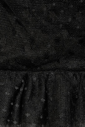 Dolce & Gabbana Ruffled tulle dress