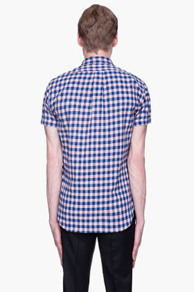 Marc by Marc Jacobs Pink and blue Molly Check Shirt