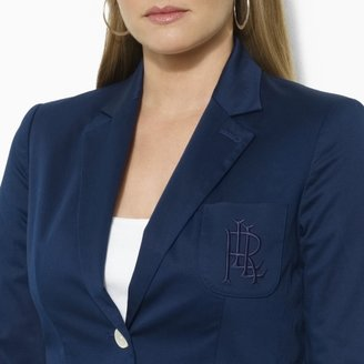 Ralph Lauren Two-Button Embroidered Jacket