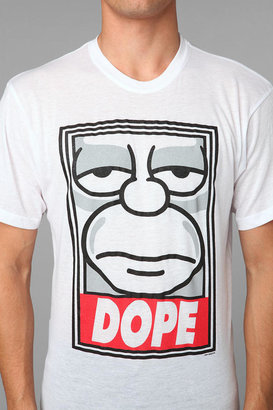 Urban Outfitters The Simpsons DOPE Tee