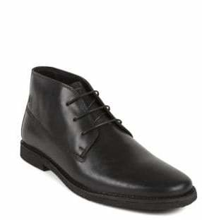 Kenneth Cole Reaction Leather Lace-Up Boots