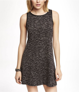 Express Space Dyed Jersey Trapeze Dress