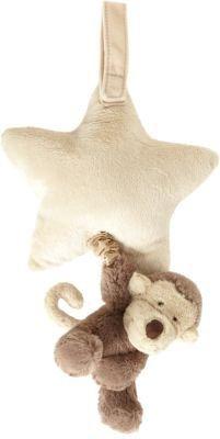 Jellycat Bashful Monkey Star Musical Pull