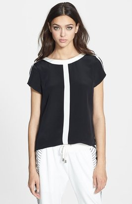 Parker 'Lorena Combo' Silk Top