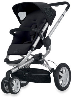 Quinny Buzz Stroller and Accessories - Rocking Black