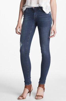 J Brand '620' Mid-Rise Skinny Jeans (Quantum)