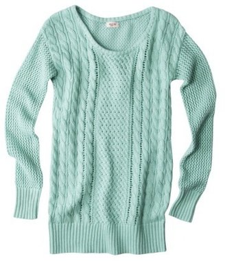 Mossimo Juniors Open Stitch Cable Tunic - Assorted Colors