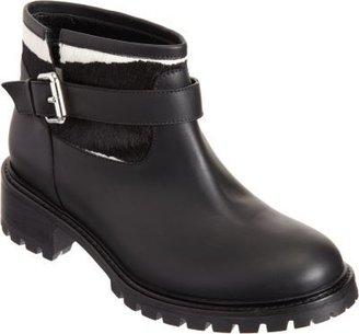 Fendi Ponyhair Cuff Ankle Boot