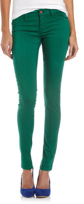 Fade to Blue Classic Skinny Jeans, Eternal Green