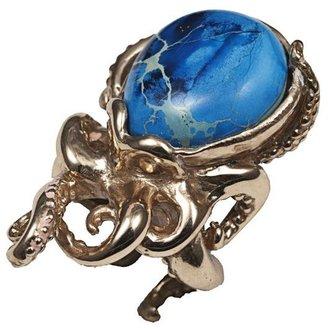 Octopus Bernard Delettrez Pyrite Ring