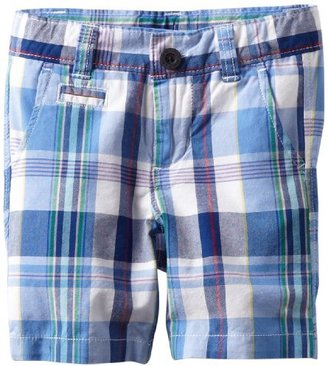 Nautica Sportswear Kids Boys 2-7 Plaid Fit Short