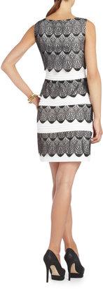 BCBGMAXAZRIA Lorenna Lace Cocktail Dress