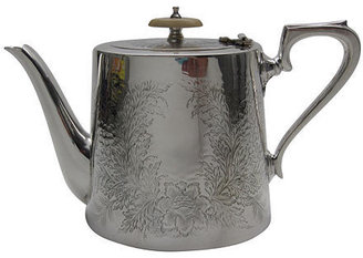 David Friedman Antiques English Teapot, C. 1865