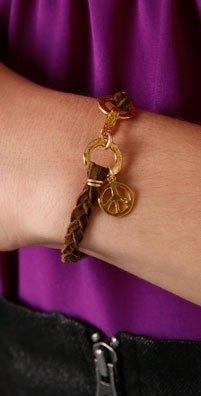 Cynthia Dugan Jewelry Peace Braided Bracelet