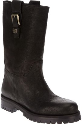 Dolce & Gabbana buckled boot