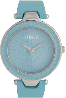 Versus By Versace 'Sertie' Leather Strap Watch, 38mm